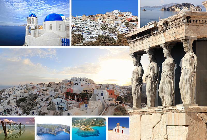 Imagine cu peisaje din Grecia