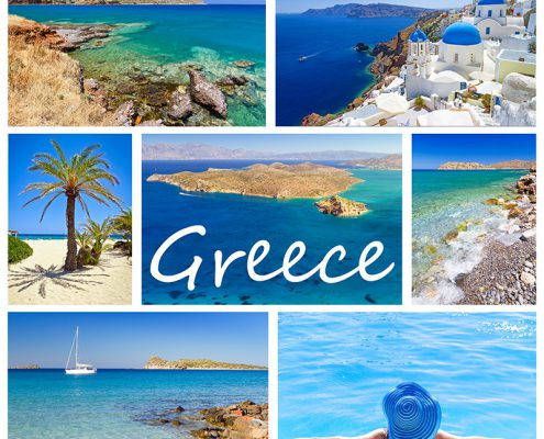 Imagine c peisaje din Grecia